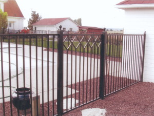 City Wide Fence Designed Regal Iron Gate