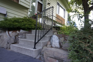Custom Iron Railing