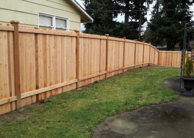 Estate Fence Back Side