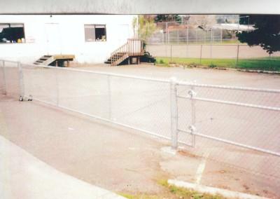 Galv CL Slide Gate
