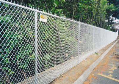 Galvanized Chain Link Slide Gate