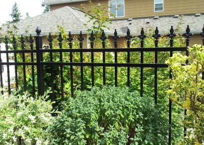 Iron Fleur De Lis Fence