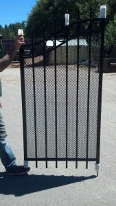 Iron Gate with Expanded Metal
