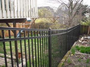 Tango Rail Iron Fence in Monroe WA