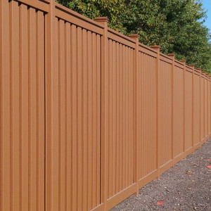 Trex Fence In Brown