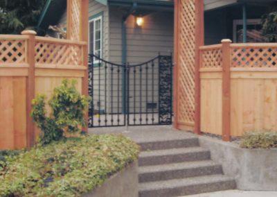 CWF Design Arbor OI Gate & Fence