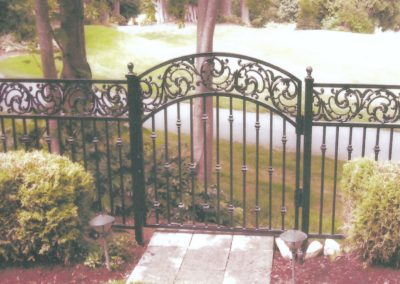 Vine Top Arched Gate